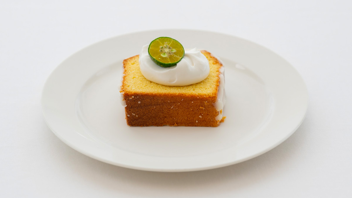 シークワーサーパウンドケーキ